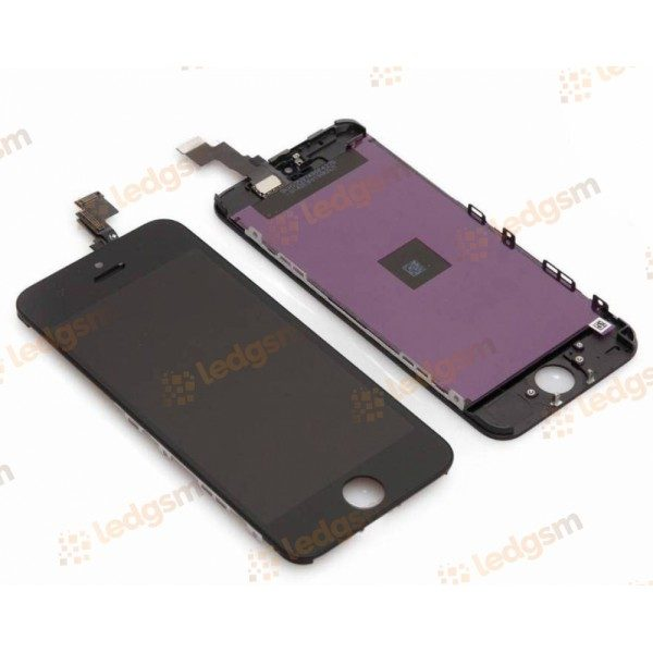 Display iPhone 5C Negru Compatibil