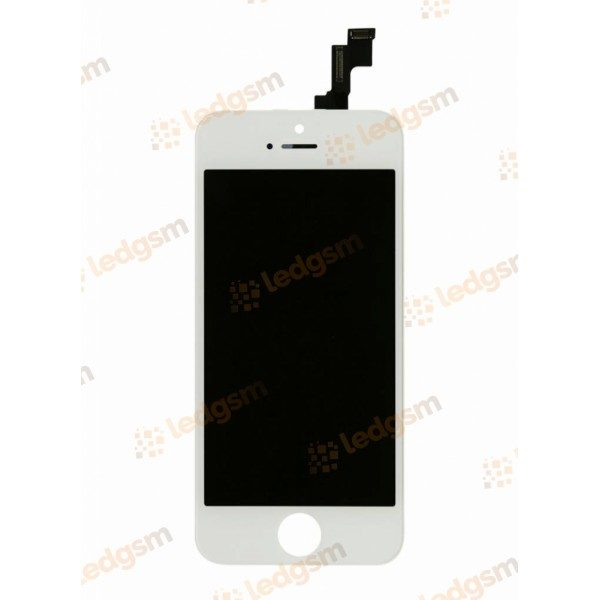 Display iPhone 5S Alb Compatibil
