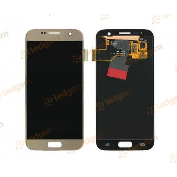 Display Samsung S7 (G930) Auriu Original