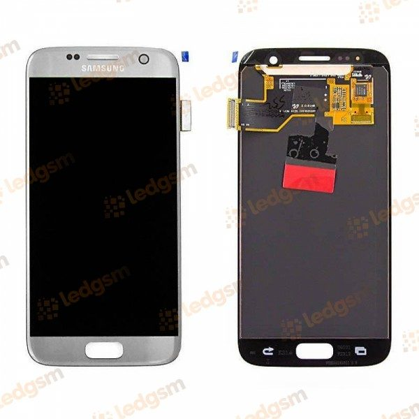 Display Samsung S7 (G930) Argintiu Original