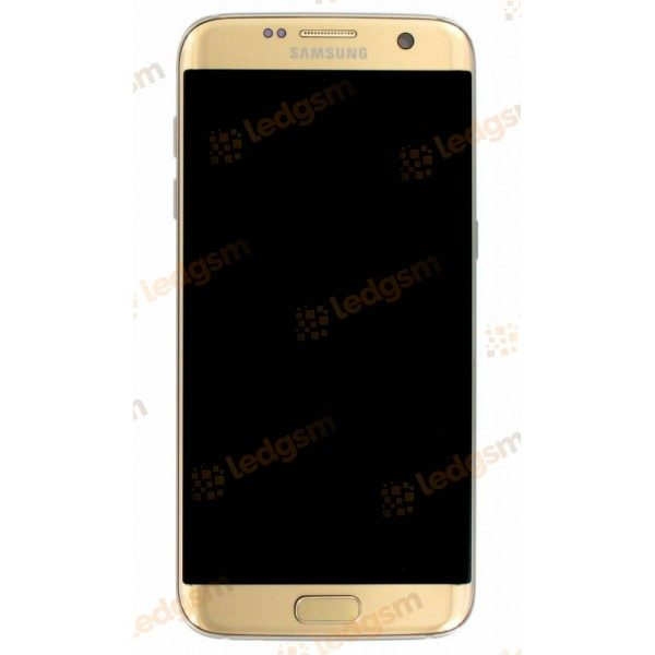 Display Samsung S7 Edge (G935) Auriu Original