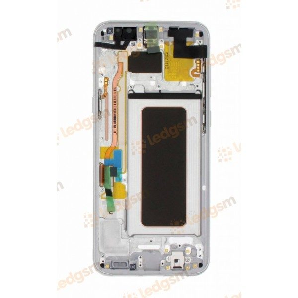 Display Samsung S8 Plus (G955) Argintiu Original